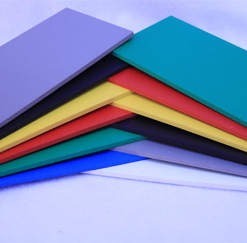 彩色发泡板