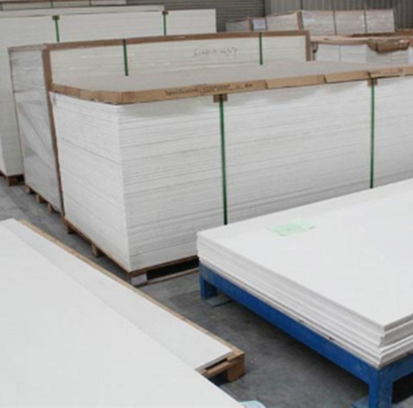 PVC白色发泡板