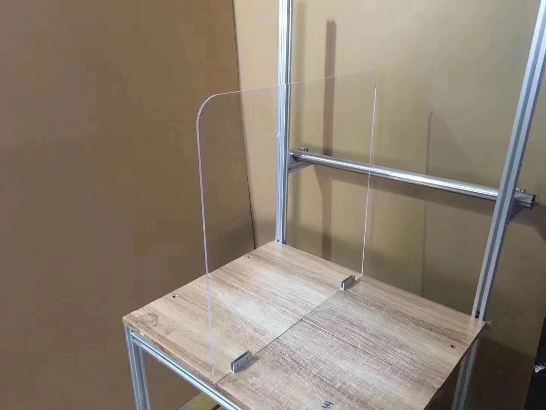 PVC餐桌隔离板